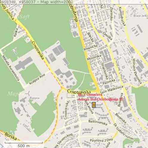 banjica mapa Mapa | Serbian Fighter banjica mapa